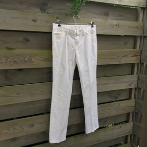 White Gap Pants